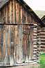 In July 2005 we took the opportunity to drive up to Florissant Fossil Beds National Park, near Florissant, CO.  <br /> <br /> This cabin is part of the Adeline Hornbek Homestead, one of the attractions of the park.