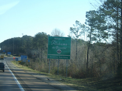 Welcome to Alabama!