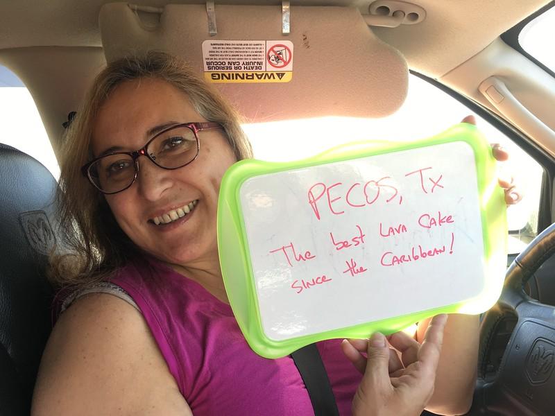 Leaving Pecos