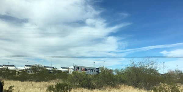Approaching Tucson