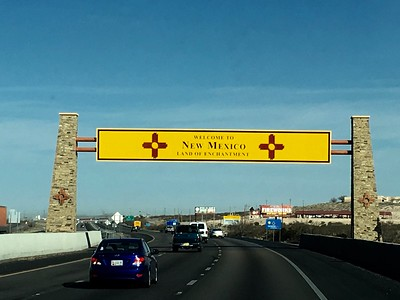 New Mexico State Line