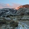 Torrey Creek Canyon, DuBois, WY, early morning 11/24/2014.