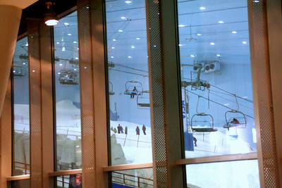 Indoor skiing, Dubai Ski Mall
