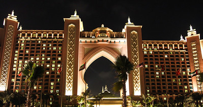 Atlantis at The Palm in Dubai.
