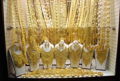 Dowry jewellery, Dubai gold souq.