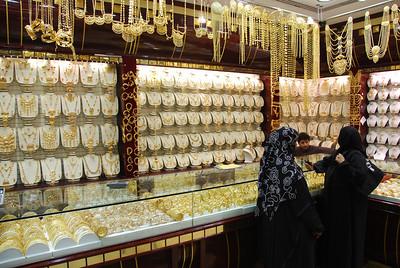 Dubai gold souq.