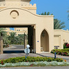 Entrance to one of the palaces of Dubai royal family