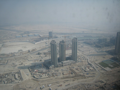 Taken from the 62nd floor of the new Address hotel in Dubai