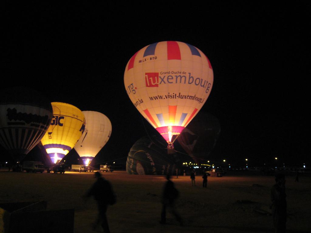 Balloons at Global Village
