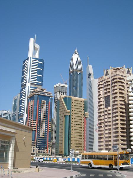 The shiny side of Dubai.