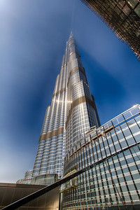 Burj Khalifa - morning - HDR
