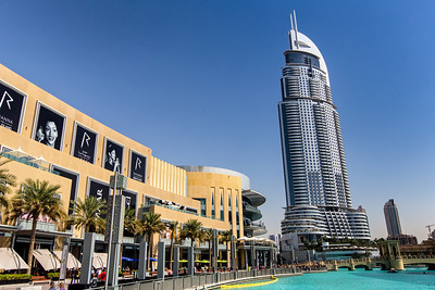 Dubai Mall and The Address Hotel