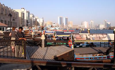 Dubai Creek - Deira Old Souq Abra station.