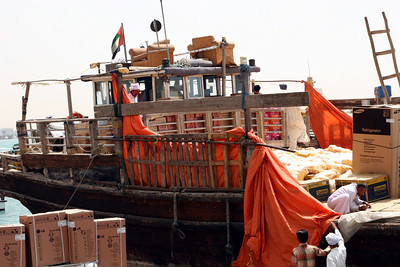 Dhow on Dubai Creek.