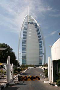Burg Al Arab hotel, Jumeirah Beach, Dubai.
