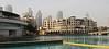 Below Burj al Khalifa, Dubai skyline