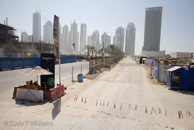 The entire city skyline seems to be under construction in Dubai, United Arab Emirates (UAE), May 28, 2009. /© Cody Williams.