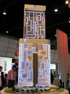At the 2006 Cityscape Exhibition, Dubai.