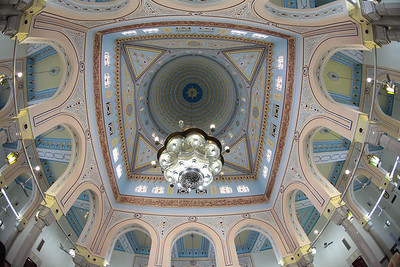 Jumeira Mosque interior.