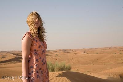 Desert safari in a desert region of Dubai, United Arab Emirates (UAE), May 25, 2009. /© Cody Williams.