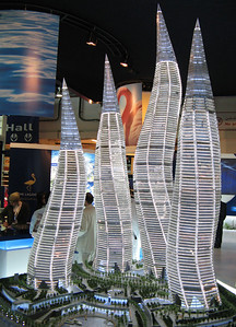 At the 2006 Cityscape Exhibition, Dubai