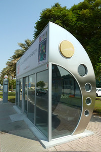Air conditioned bus stop