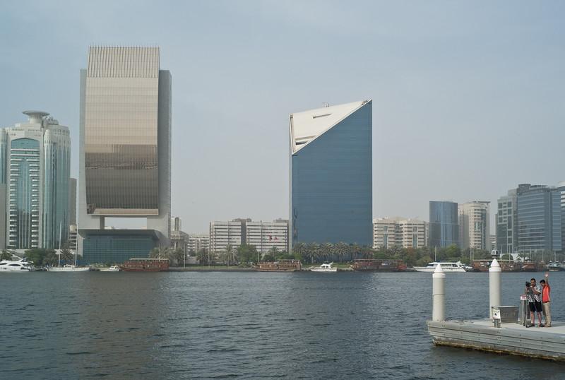Dubai waterfront.