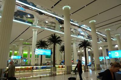 Dubai Arrival Lobby