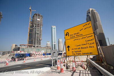 A city under construction, Dubai, United Arab Emirates (UAE), May 27, 2009. /© Cody Williams.