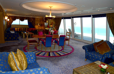 Jumeirah Beach Hotel - Royal Suite.
