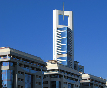 The Chelsea Tower, Dubai ... a taxi driver told me the building belonged to Bill Clinton who named it after his daughter ... I found that odd and checked the information and found it false!