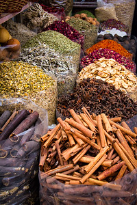Spice souk (market) in old Dubai