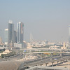 View from Jumeirah Lake Towers: Burj al-Arab in the background