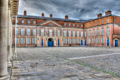 Dublin Castle - essentially a Napoleonic barracks.