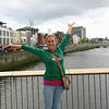 Me on the  River Liffey!