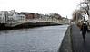 Halfpenny bridge, Dublin, 12 January 2009