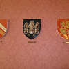 Coats of Arms for the former leaders of Ireland.