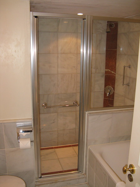 A real shower!