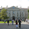 West gate at Trinity College.