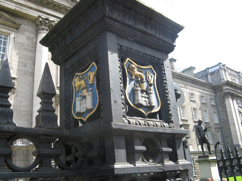 Gates of Trinity College.