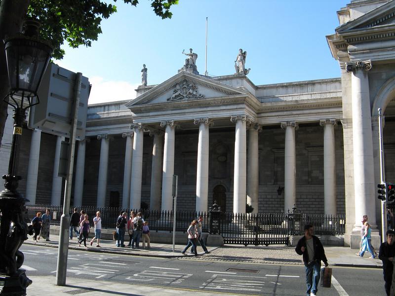 Bank of Ireland building.