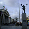 O'Connell St statue & GPO