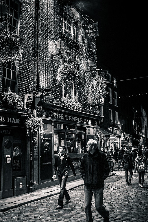 Temple Bar District, Dublin, Ireland.