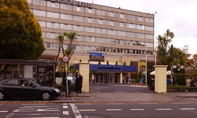Burlington Hotel - Note The Palm Trees !