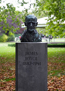 James Joyce in St. Stephen's Green