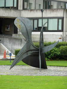 Calder sculpture at Trinity College Dublin