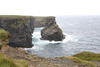 Our best memory of Ireland was on the penninsula just out of Kilkee. The Atlantic Ocean was pounding against the cliffs of Kilkee, the wind was STIFF, steady, more than one could stand up against.
