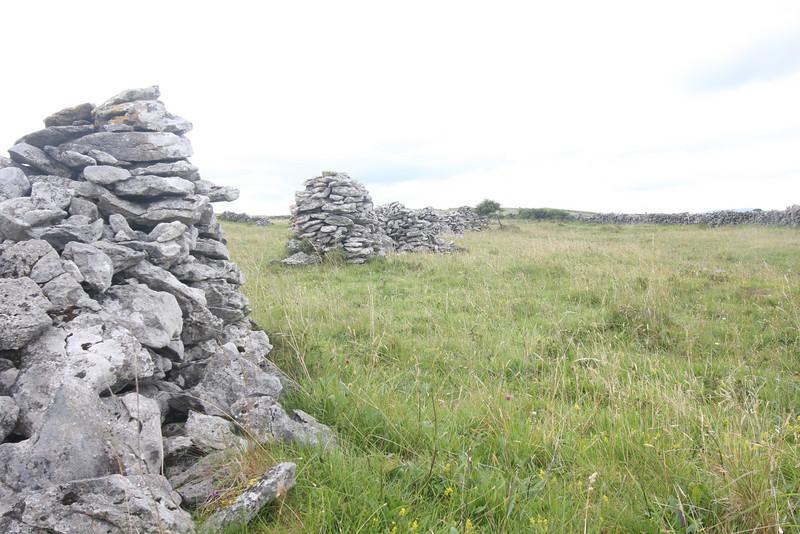 Rock piles in the Burren