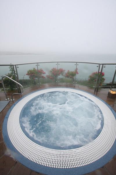 Outdoor Hot tub at Cliffhouse