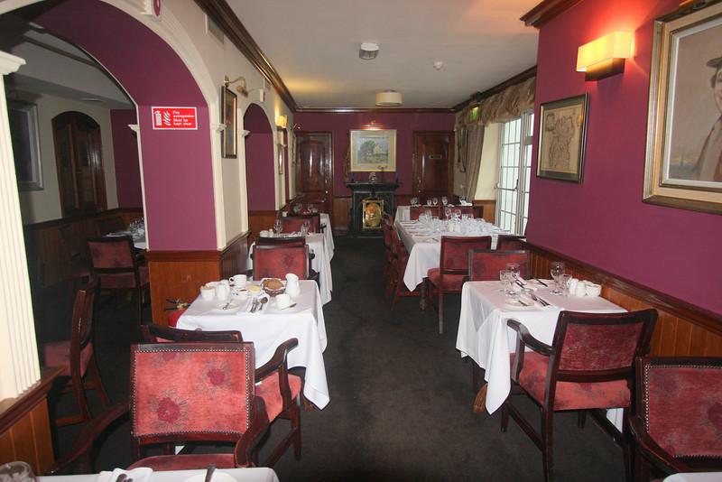 Breakfast room at Foley's Townhouse in Kilarney